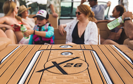 Mastercraft X26 Family Party Features